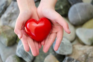 rotes Herz für Dich