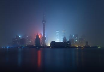 Fototapete - Shanghai skyline