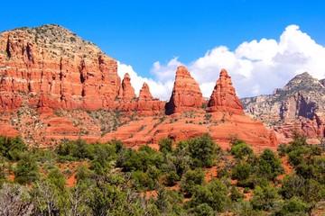 Fototapete - Beautiful red rock landscape at Sedona, Arizona, USA