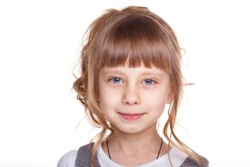 Portrait of a fanny girl.