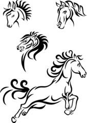 Horse tribal