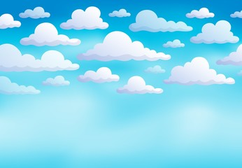 Cloudy sky background 8
