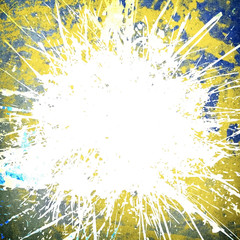 Fototapete - abstract paint background with splash pattern