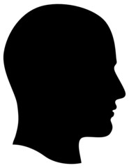 Man Head Profile
