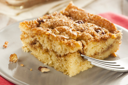 Homemade Coffee Cake with Cinnamon