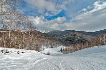 The nature of Sakhalin island, Russia.