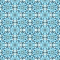 Seamless pattern of mosaic
