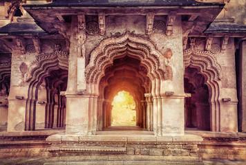 Keuken foto achterwand India Lotus Mahal in Hampi