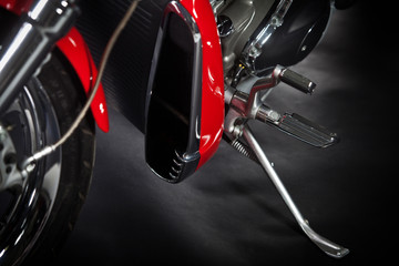 Motorcycle foot rest