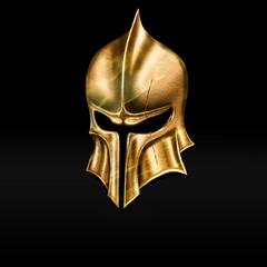 golden helmet