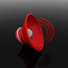 Audio speaker icon