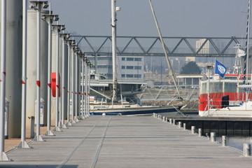 Port de plaisance - base sous-marins Keroman - Lorient