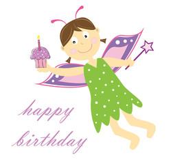 Happy Birthday Fairy