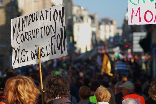 Contre la corruption