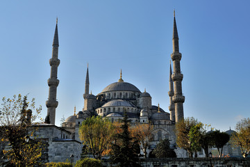 istanbul blue mosque