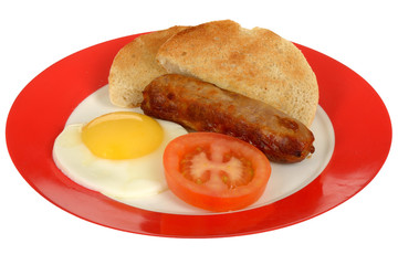 Sausage and Fried Egg