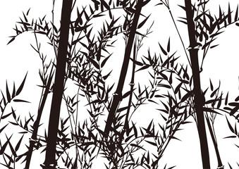 Fotobehang Vogels in het bos グラフィックパターン