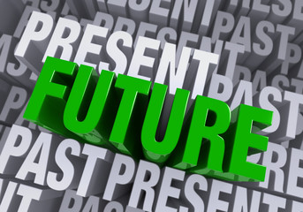 The Future Emerges From The Past And Present