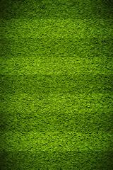 Football grass field