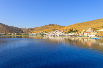 Wall Mural - Greece Kea Island in Cyclades panoramic seascape view of sea at
