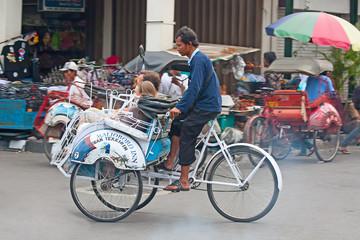 Bicycle rikshaw