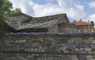 Historical church charnel-house Saint Sunday in Batak, Bulgaria