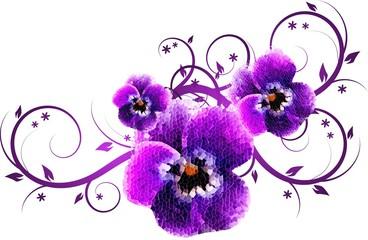 Mosaic violet