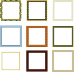 Frames pattern (set16)
