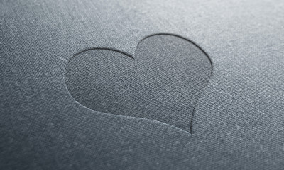 jeans text heart