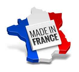 """Icône """"Made in France"""" vectorielle 1"""