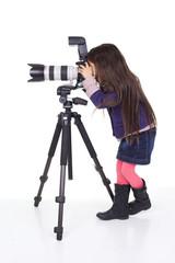enfant fait des photos