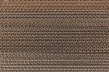 Corrugated Cardboard Stacked