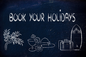 travel industry: holiday planning and booking