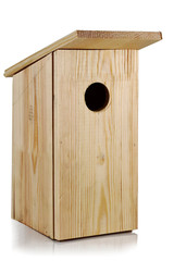 The birdhouse.