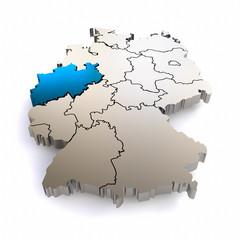 3D Bundesland NRW