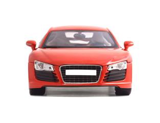 Türaufkleber Schnelle Autos red car toy