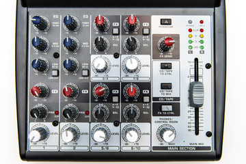 Sound mixer for home use