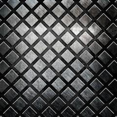 iron grid background