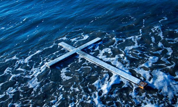 Floating Cross