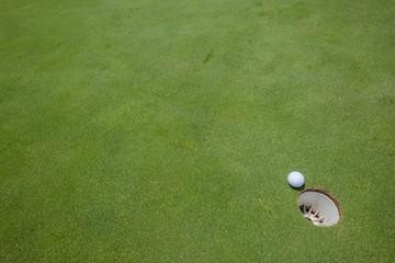 Golf Putting Green Ball Hole