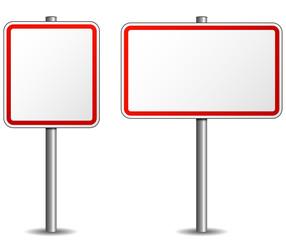 Vector signpost