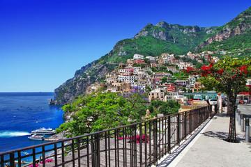 beautiful Positano, Amalfi coast of Italy