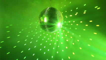 Wall Mural - Multicolor disco background