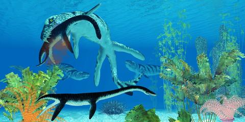 Dakosaurus Marine Reptile