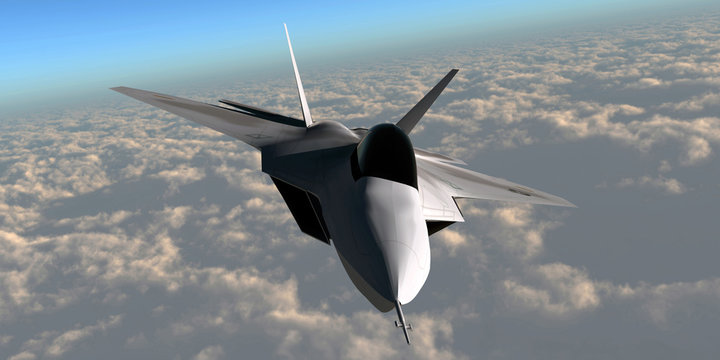 F-22 Fighter Jet