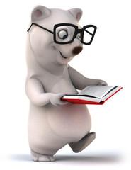 Papier Peint - White bear