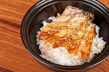 eel with rice