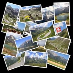 European Alps - photo collage