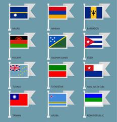Flags set four-13