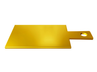 chopping board in gold
